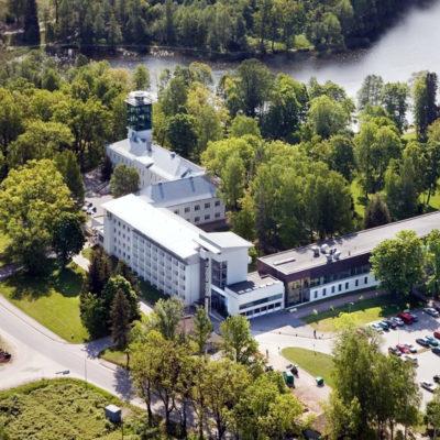 Pühajärve Spa Center hotel lobby ventilation (EST) SKW13Recu 10.000m3/h